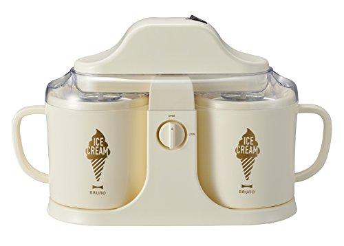 BRUNO デュアルアイスクリームメーカー アイボリー BOE032-IV -