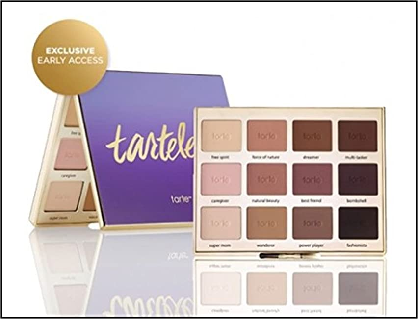 便利それぞれカレンダーTarte Tartelettonian Clay Matte Eyeshadow Palette (Limited Edition) タルト マットアイシャドーパレット [並行輸入品]e Amaz