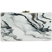 YYW Women Acrylic Clutch Evening Bag Box Clutch Shoulder for Wedding Party Porm