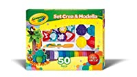 Crayola; Modeling Clay Deluxe Kit; Art Tools; 50 Pieces; Soft Pliable Clay Won't Dry Out [並行輸入品]