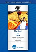 1986 NCAA(r) Division I Men's Basketball 2nd Round - Maryland vs. UNLV [並行輸入品]
