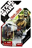 Star Wars - 08 Packaging with Stand - Romba and Graak (Ewoks)