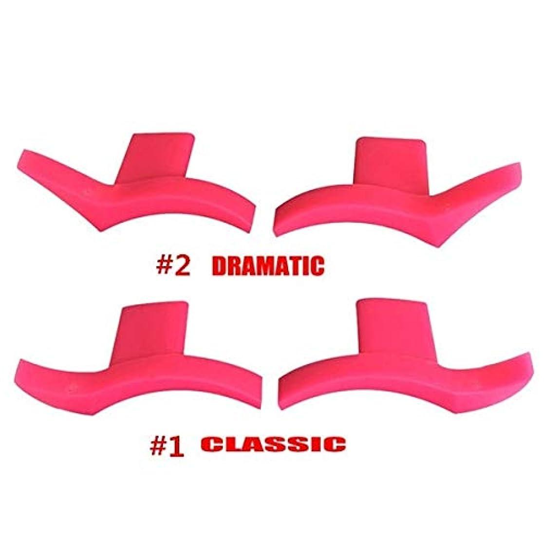有効カニ上回るSemperole - 4本アイライナー金型翼は目ウィングリキッドアイライナーツール美容ポータブル化粧品[劇的+クラシック]を着やすいスタンプシール