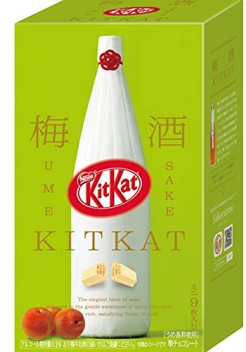 ネスレ日本 キットカット ミニ 梅酒 鶴梅 9枚 1箱