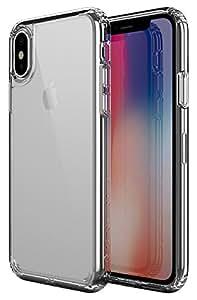 Patchworks iPhone X ケース Lumina Case クリア 【 耐衝撃 クリア にじみ防止 オンライン専用パケ 】 アイフォン X ケース