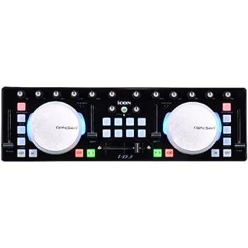 【正規品】iCON Digital MIDIコントローラー i-DJ ブラック IDJBK