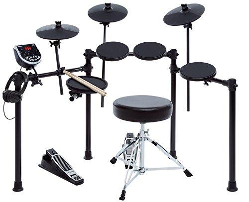 Alesis 電子ドラムキット スターターパック ドラムスローン・ドラムスティック・ヘッドフォン付属 Burst Kit