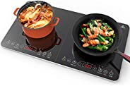 Aobosi induction cooker,Max and Min available Buttons For Temperature and Power Available With Double Inductio