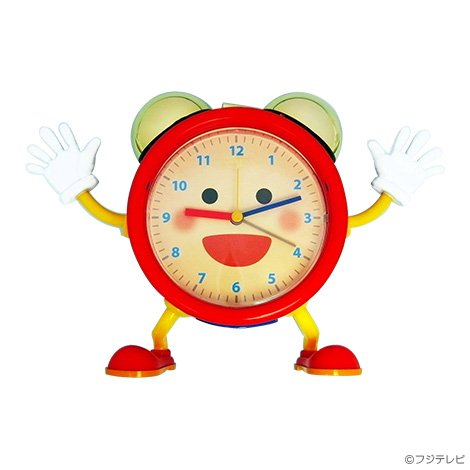 めざましくん時計(生野アナバージョン)NEW -