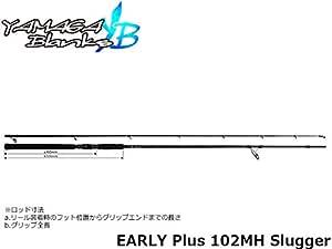ヤマガブランクス(YAMAGA Blanks) ロッド EARLY Plus 102MH Slugger[スラッガー]