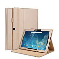 MrStar Dragon Touch X10 2017 2018 10.1 inch Tablet Case, Dragon Touch X10 2017 2018 10.1 inch Tablet Wallet Case,携帯電話ケース, Premium Slim Leather Wallet Back Case with Credit Card ID Holder Protective