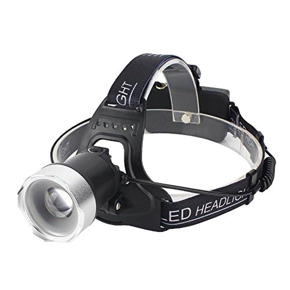 司教こだわり人気のNanle LEDヘッドライトズーム可能な充電式スーパー明るいXM-L2 LEDヘッドトーチ、キャンプ用懐中電灯ヘッドランプ巡航ハイキングクライミングセキュリティライト