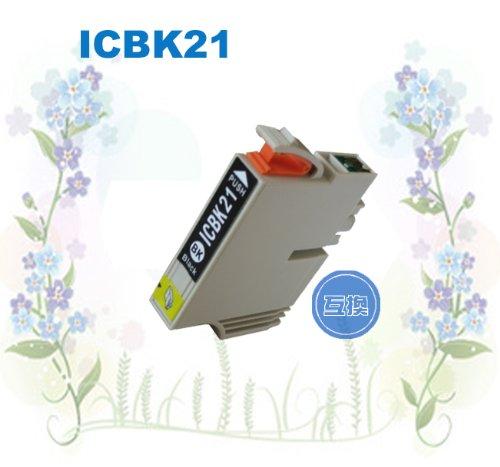 エプソン ICBK21 IC6CL21 IC7CL21対応 ・互換残量表示OK