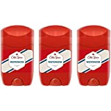 (Pack of 3) Old Spice Whitewater Deodorant Solid Stick for Men 3x50ml - (3パック) オールドスパイスホワイトウォーターデオドラントソリッドスティック...