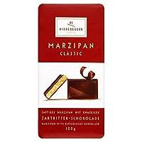 Niedereggerのマジパンクラシックなダーク100グラム (x 2) - Niederegger Marzipan Classic Dark 100g (Pack of 2) [並行輸入品]