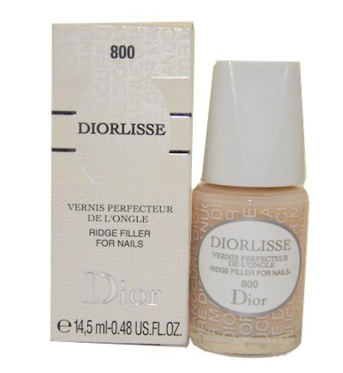 ペック泣いている伝染性のDior Diorlisse Ridge Filler For Nail 800(ディオールリス リッジフィラー フォーネイル 800)[海外直送品] [並行輸入品]