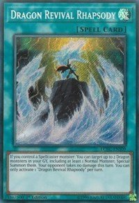 Dragon Revival Rhapsody - LCKC-EN109 - Secret Rare - 1st Edition - Legendary Collection Kaiba Mega Pack (1st Edition)