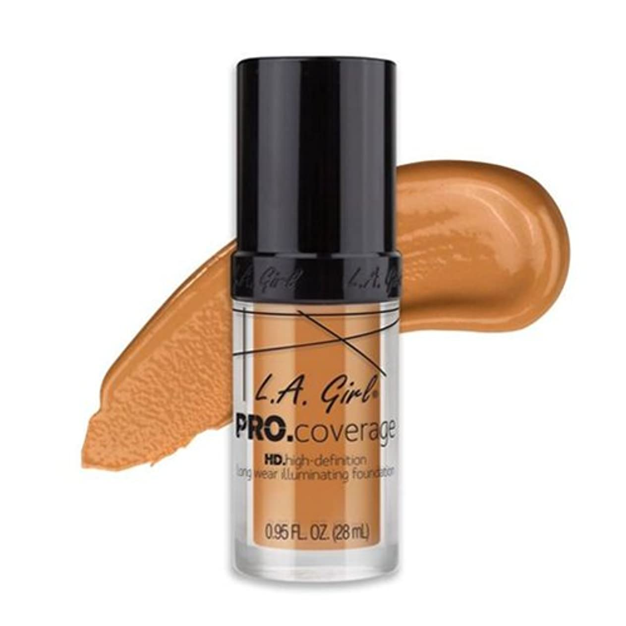 体体同性愛者(6 Pack) L.A. Girl Pro Coverage Illuminating Foundation - Nude Beige (並行輸入品)
