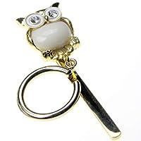 SWANK EWS Eye Wear Show メガネホルダー 梟・フクロウ・オウルモチーフ アイ・ウェア・ショウ owl white gold