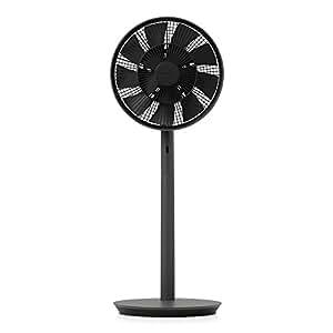 バルミューダ 省エネ 静音 リビング扇風機 The GreenFan(グリーンファン)| EGF-1600-DK(ダークグレー×ブラック)