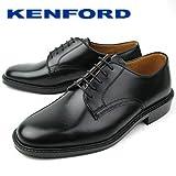 K422L ブラック メンズ ビジネスシューズ プレーントゥ 紳士靴 ケンフォード画像①