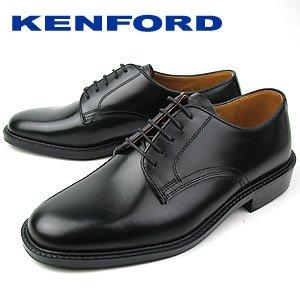 K422L ブラック メンズ ビジネスシューズ プレーントゥ 紳士靴 ケンフォード