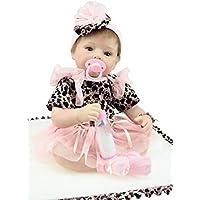 Cute人形スマート赤ちゃん子ギフトLifelikeハンドメイドNPKコレクションRebornベビー人形Realisticベビー人形22インチビニールシリコン赤ちゃん人形Newborn Realベビー人形Cute Lifelike人形ギフト