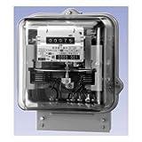 大崎工業 A63A 普通電力量計 単相3線式 100V 120A 60Hz 西日本 (検定付)