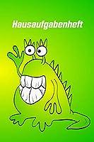 Hausaufgabenheft: Mini Monster Jungen und Maedchen  100 Seiten  Hausaufgaben mit Stundenplan