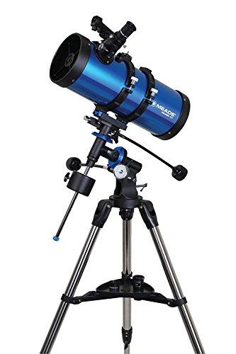 MEADE 天体望遠鏡 EQM-127 星空散歩ライトII 観測キット 口径127mm 焦点距離1000mm 反射式 ブルー 003435