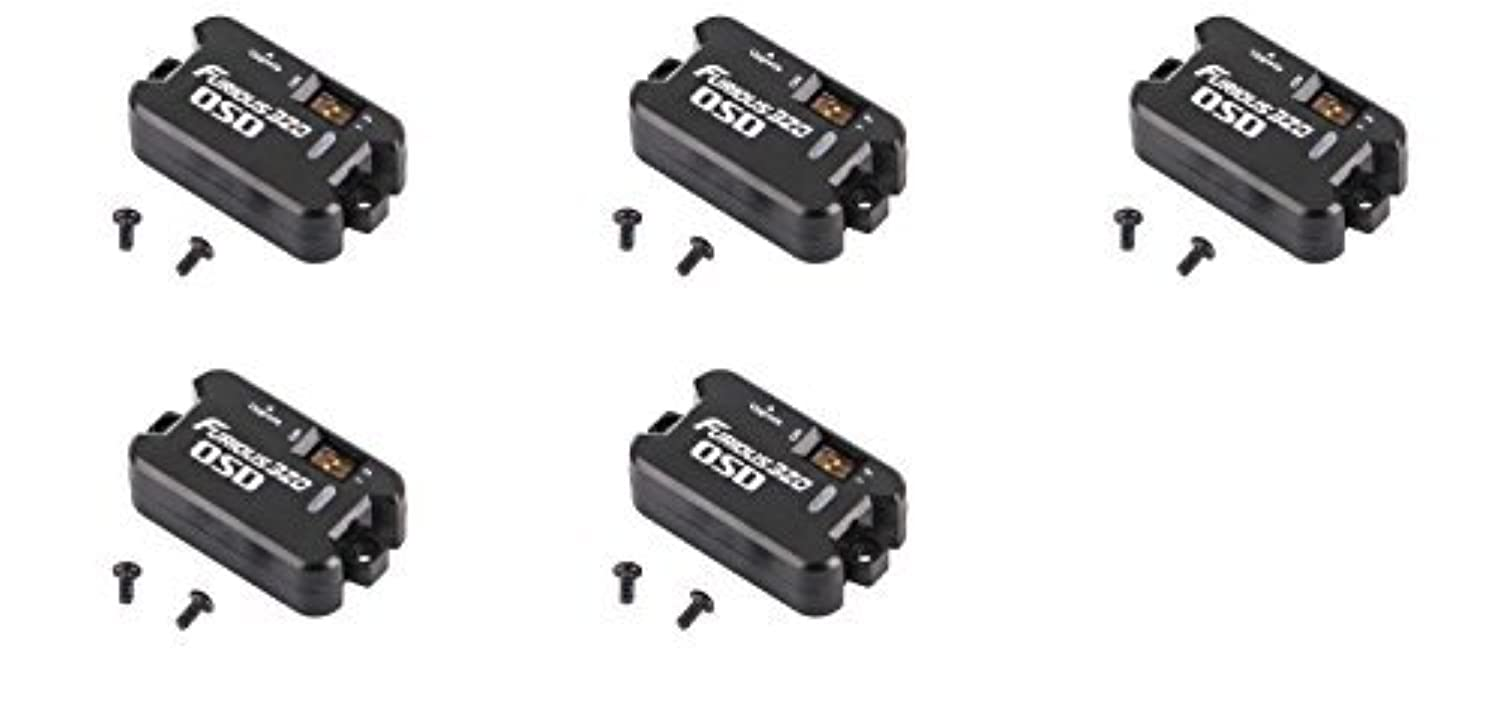 5 x Quantity of Walkera Furious 320(G) Tilt Rotor OSD Furious 320(G)-Z-08 On Screen Display FPV Unit [並行輸入品]