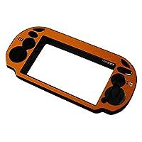 Yudesunyds プロテクター for PS Vita - アルミ メタル 保護用 ハード ケース カバー コンソール カラー ゴールド