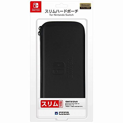 【Nintendo Switch対応】スリムハードポーチ for Nintendo Switch ブラック