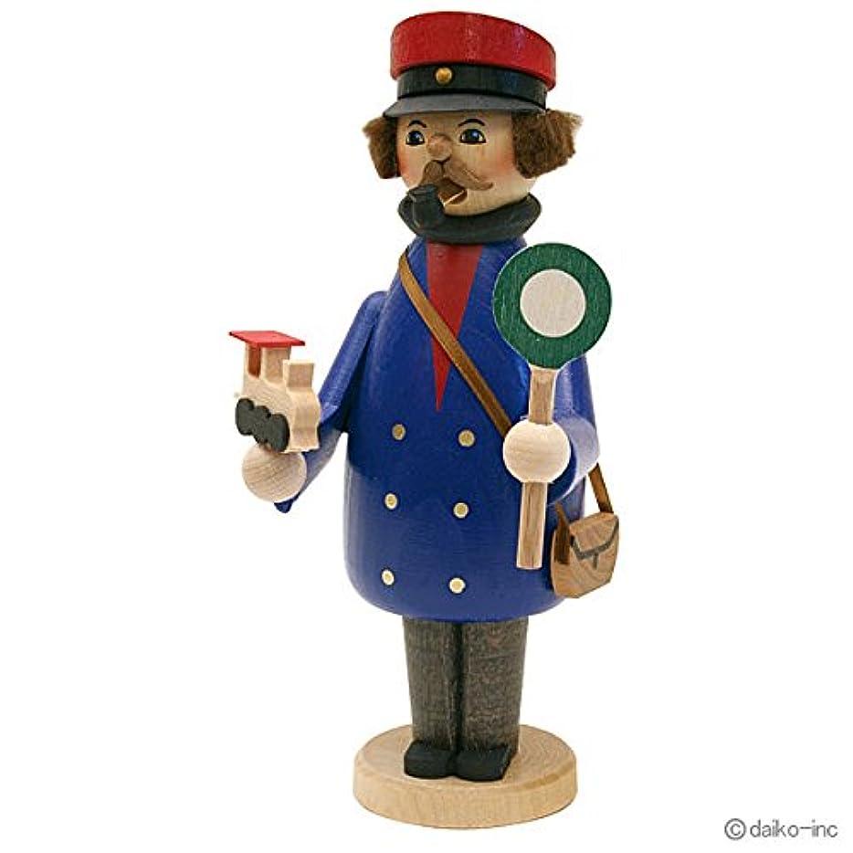 トレイル建物商人kuhnert ミニパイプ人形香炉 鉄道員