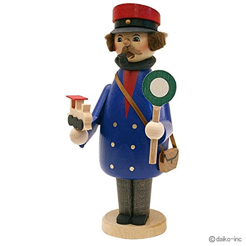 やるチート不正確kuhnert ミニパイプ人形香炉 鉄道員