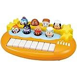 日亚:面包超人玩具人偶电子琴会弹出的玩偶琴宝宝音乐小钢琴 1岁+ 补货价2527日元,约¥153