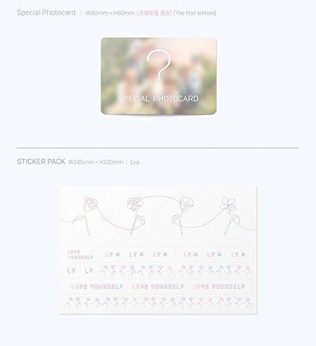 防弾少年団 - LOVE YOURSELF 承 [Her] [L.O.V.E version SET] 4CD+Photobook+Photocard+4 Folded Poster [KPOP MARKET特典 ボーナスギフトフォトカードセット] [韓国盤]