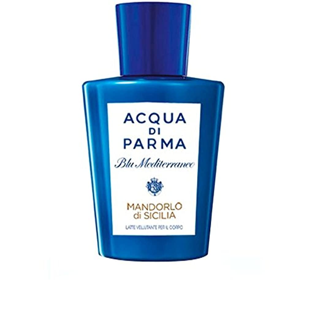 発症意図的成り立つAcqua Di Parma Mandorlo Di Sicilia Pampering Body Lotion 200ml (Pack of 6) - アクアディパルママンドルロ?ディ?シチリア至福のボディローション200 x6 [並行輸入品]