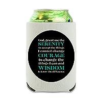 静かな祈りの勇気の知恵 Can Cooler - ドリンクスリーブハガーCollapsible Insulator - Beverage Insulated Holder