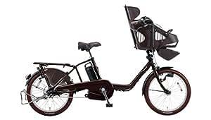 Panasonic(パナソニック) ギュット・ミニ・EX 子乗せ電動自転車 2016年モデル 16.0Ah 内装3段 BE-ELME03T 20インチ ビターブラウン