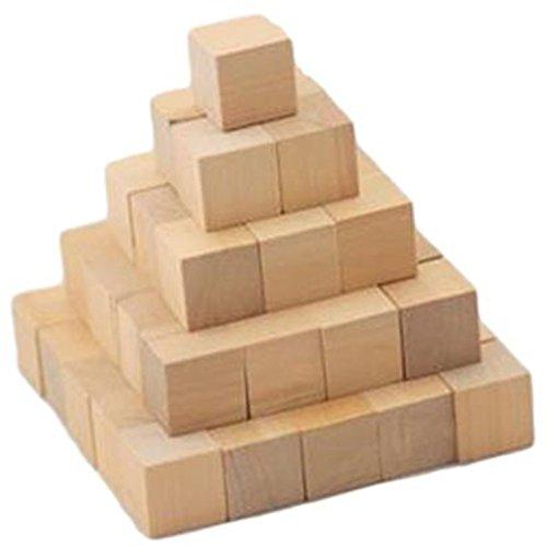 木製 積み木 ブロック 100個 セット 知育 玩具 おもちゃ