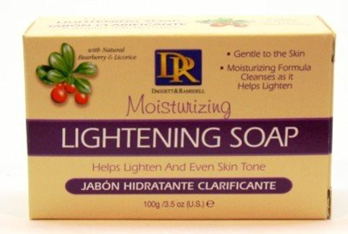 定期的な座標ドライDaggett & Ramsdell Lightening Hand & Body Soap Bar Box 104 ml (Case of 6) (並行輸入品)