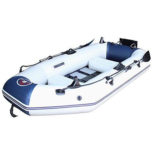 life_mart フィッシングエアボートセット 3人乗り ボート フローティングベスト 2着セット 最大積載210kg