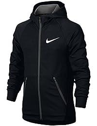 (ナイキ) Nike Dri-FIT Lightweight Full-Zip Hoodie ボーイズ?子供 パーカー?トレーナー [並行輸入品]