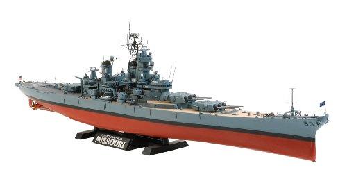 1/350 艦船シリーズ No.29 アメリカ海軍 戦艦 BB-63 ミズーリ 1991年仕様 78029