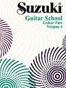 Alfred 00-0397 Suzuki Guitar School Guitar Part- Volume 4 - Music Book