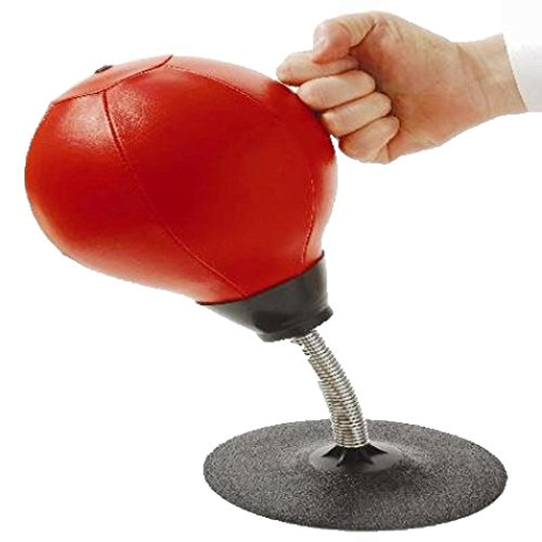 inverlee Stress Buster Desktop Punching Ball Heavy Duty吸引自立レフバッグキット大人子供ホームオフィス マルチカラー IN