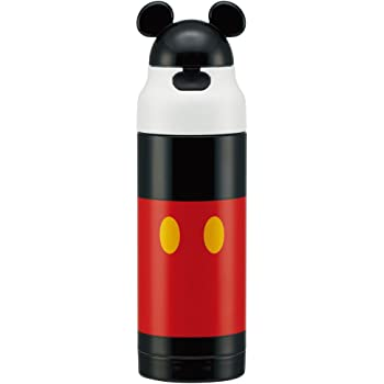 スケーター シリコン ストローボトル ストロー付き 水筒 220ml ミッキーマウス ディズニー SMD2ST