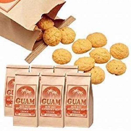 グアム マカデミアナッツ クッキー 6袋セット【グァム 海外土産 輸入食品 スイーツ】