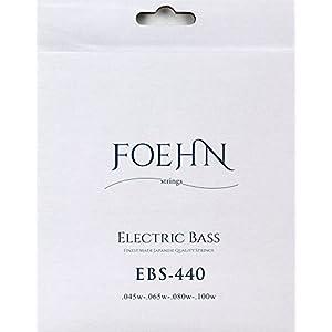 FOEHN EBS-440 Electric Bass Strings Regular Light エレキベース弦 45-100